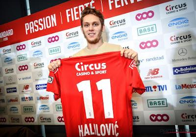 """Alen Halilovic a vu de la qualité au Standard : """"Ils sont importants pour l'équipe"""""""