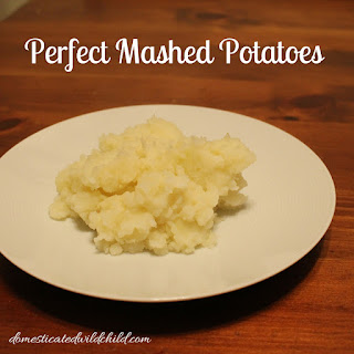 Perfect Mashed Potatoes.