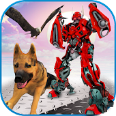 Multi Robot Transforming Game: Robo Animal Cop Dog