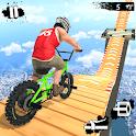 Mega Ramp Crash Stunts BMX Bike Racing Challenge icon