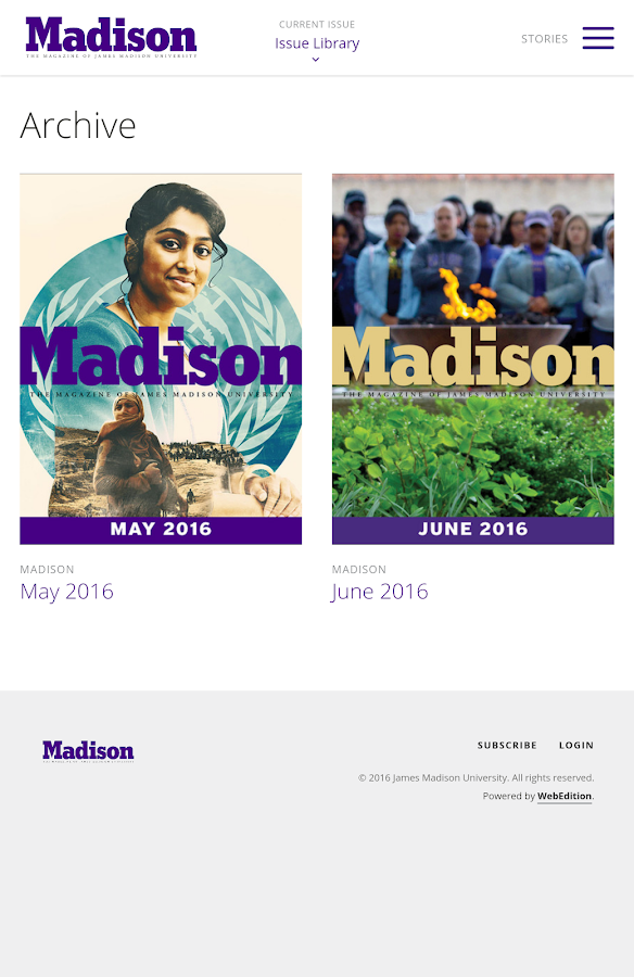 Madison- screenshot