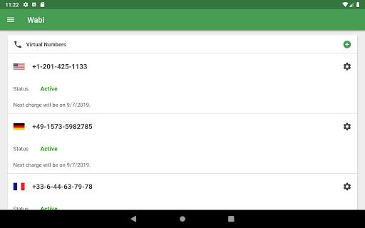 Wabi - Virtual Number for WhatsApp Business 2.3.1 screenshots 9