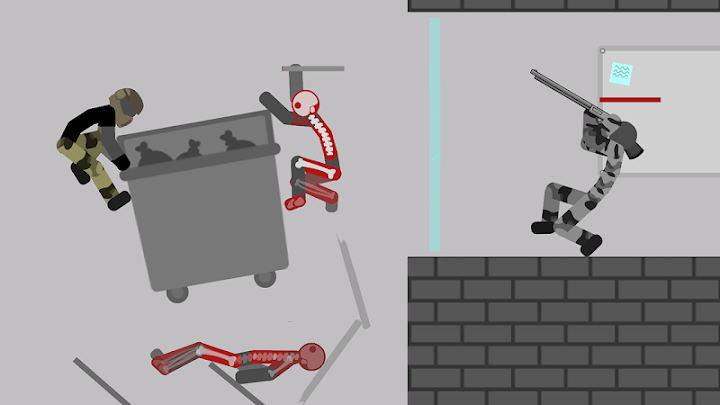Stickman Backflip Killer 5 Android App Screenshot