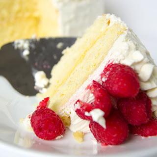 Lemon Curd Cake with White Chocolate Swiss Buttercream