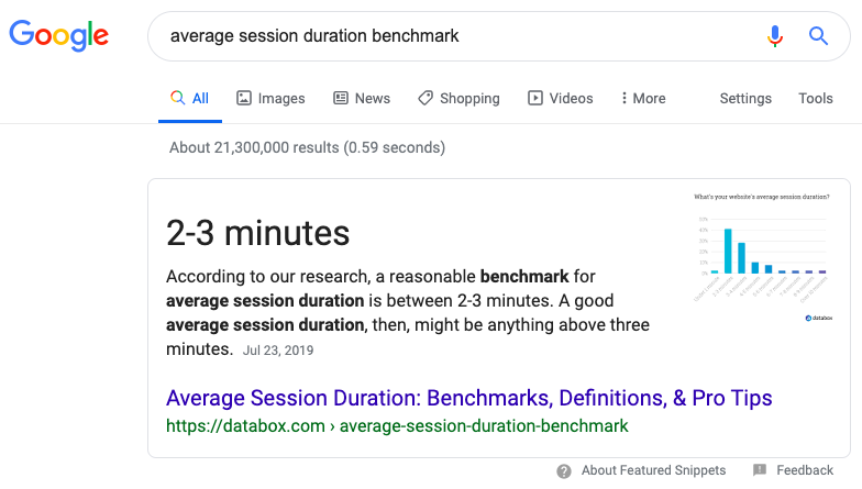 featured snippet example 2