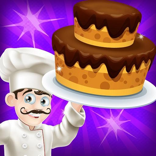 Cake Bakery Shop - Sweet Cooking, Color by Number Icon