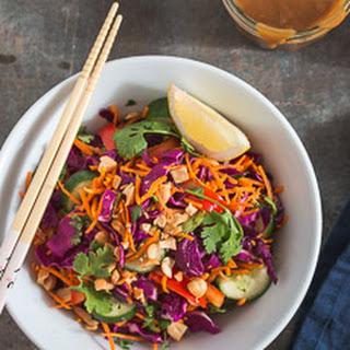 Thai Salad with Peanut Sauce