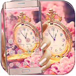 Sakura Rose Gold Watch Theme Icon