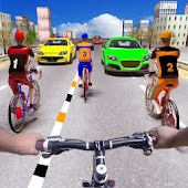 Endless Bicycle Rider Racer