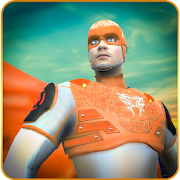 Flying Superhero Rescue Game