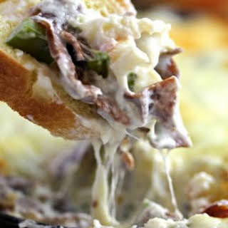 Philly Cheesesteak Dip.