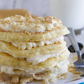 Cheesecake Pancakes.