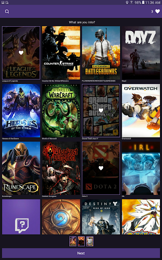 Screenshot 6 for Twitch.tv's Android app'