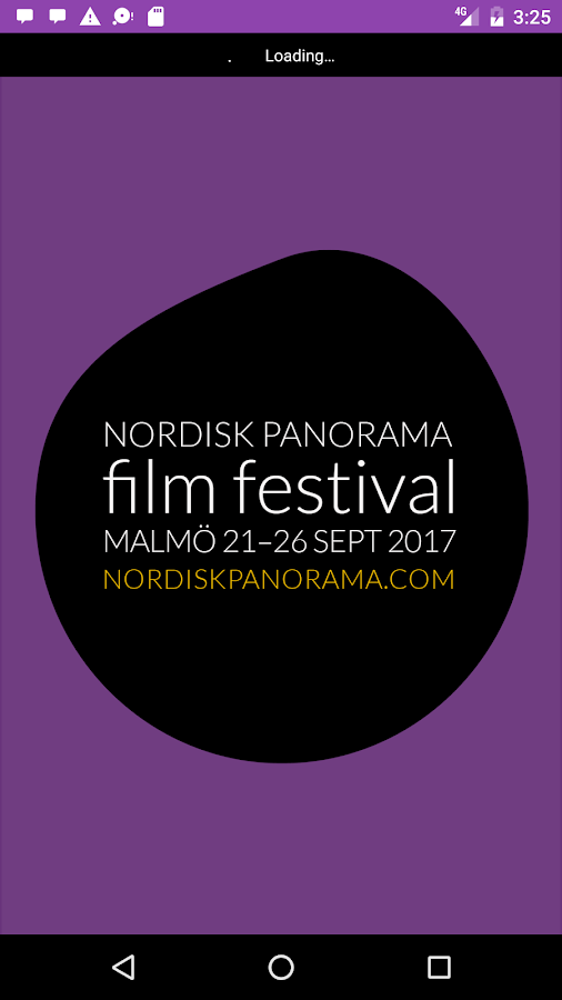 Nordisk Panorama Film Festival- screenshot