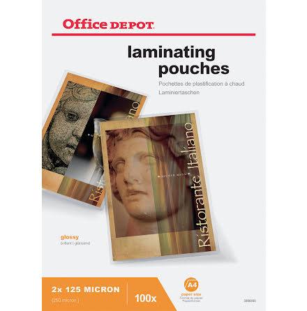 Laminat A4       125mic 100/fp