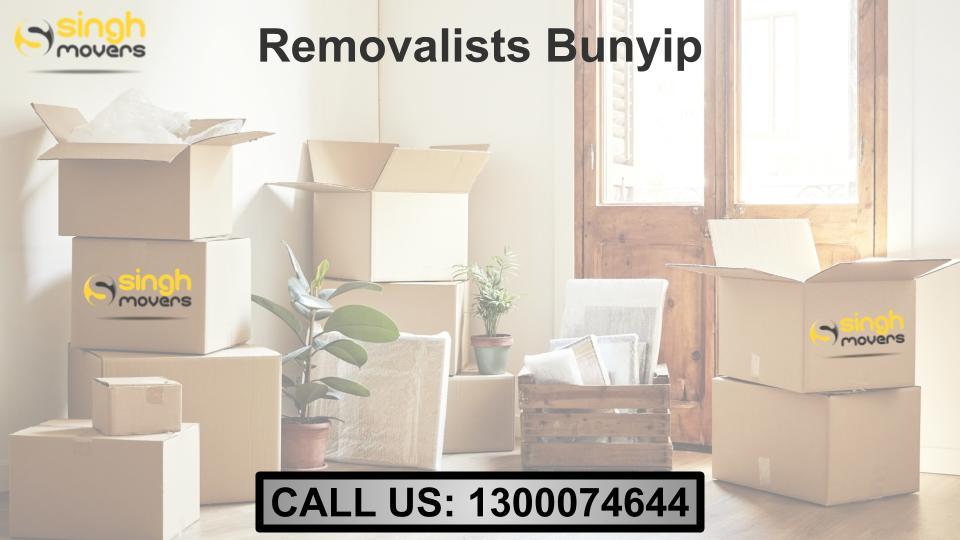 Removalists Bunyip