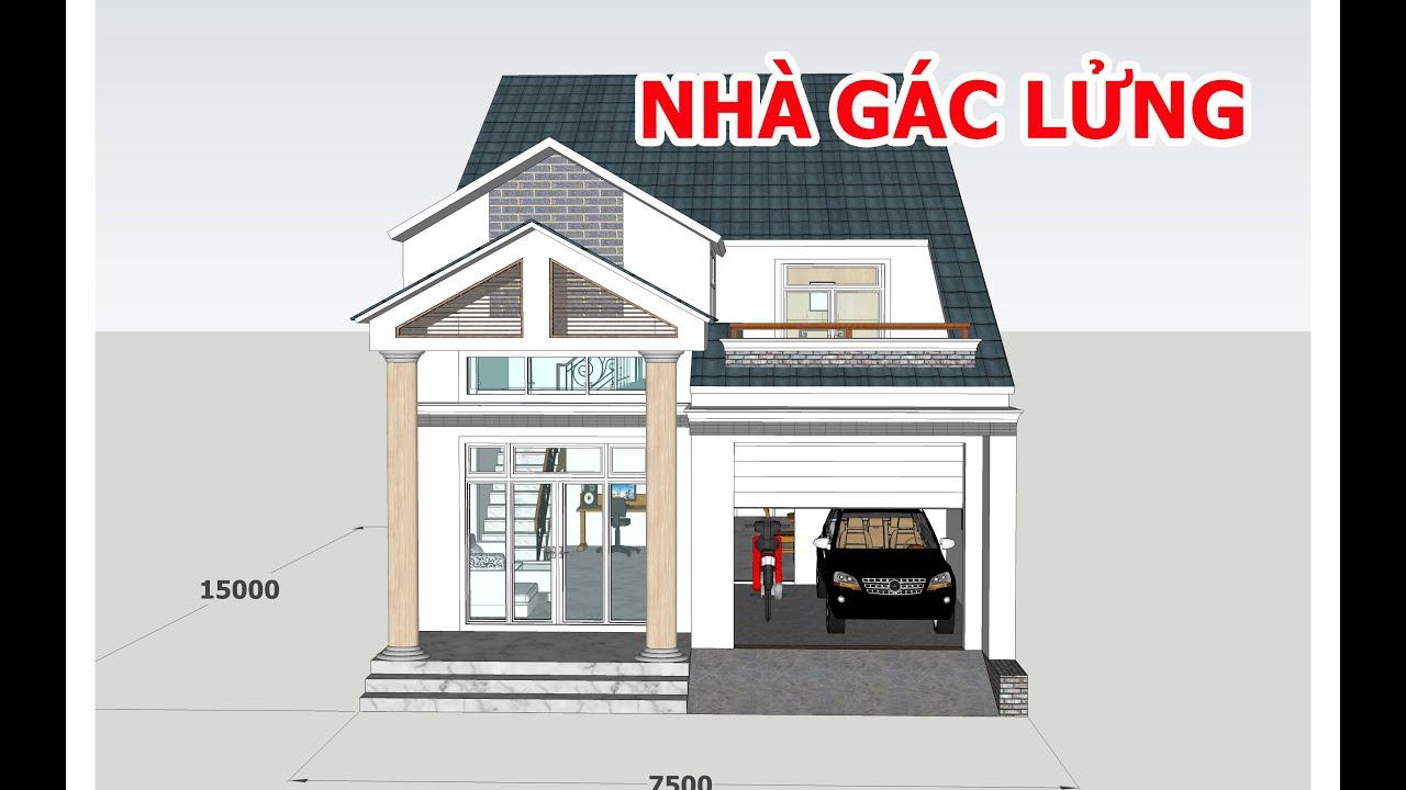 Xây dựng mẫu nhà mái thái chi phí hợp lý