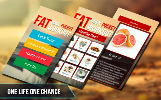 Fat Burn Pocket workout 1.0.3 screenshots 4