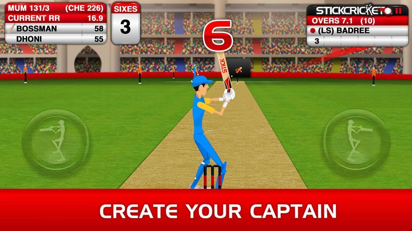 Stick Cricket Premier League screenshot #1
