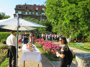 Photo: #eden14 Welcome Reception in the #eden14 Welcome Cocktail in the Botanical Garden 2 Photo by SRCE