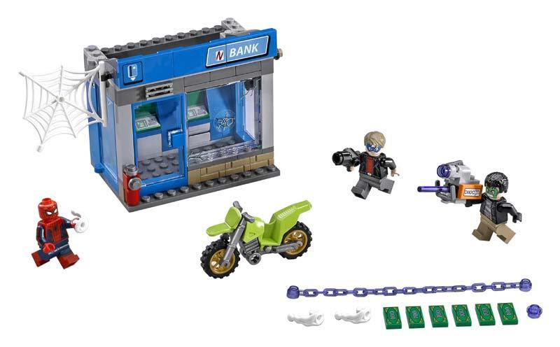 Contenido de Lego® 76082 Atraco al Cajero Autómatico