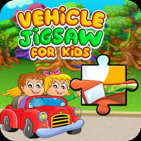 Kids Vehicle Jigsaw Puzzle Game