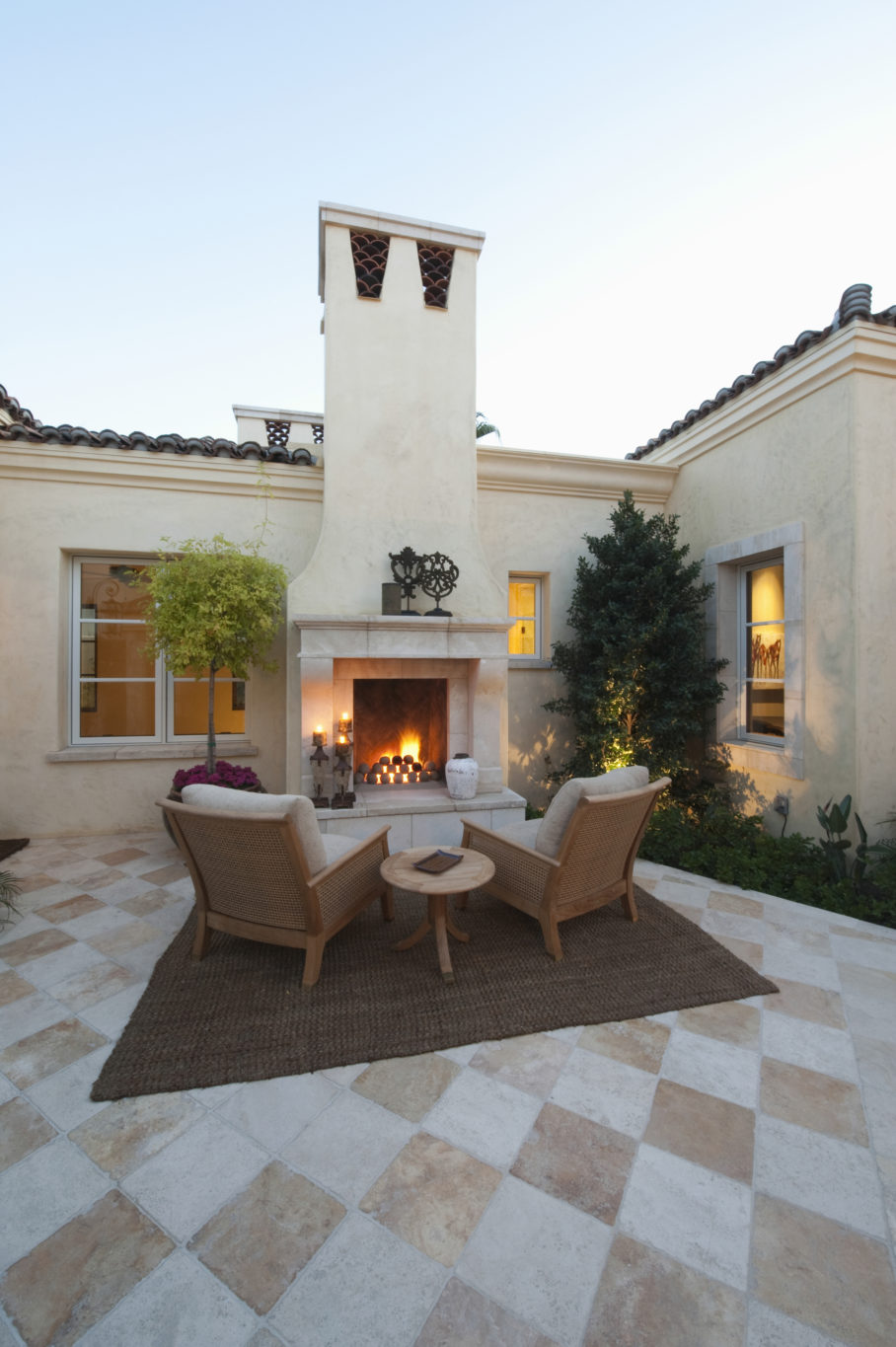 outside with our guide to outdoor tile
