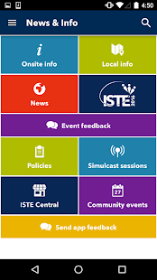 ISTE 2016 Conference & Expo- screenshot thumbnail