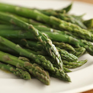 Broiled Asparagus with Pecorino and Pepper Recipe