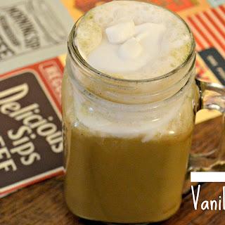 Protein Rich Vanilla Chai Latte {vegan, soy free, gluten free}
