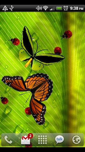 Friendly Bugs Live Wallpaper screenshot 2