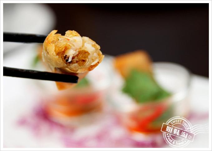 阿杜皇家泰式料理菜單炸春捲