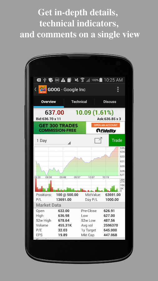 Real Time Stocks Track & Alert- screenshot