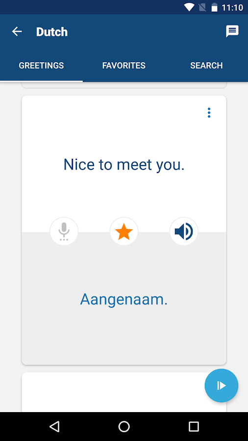 Learn Dutch phrases & words- screenshot