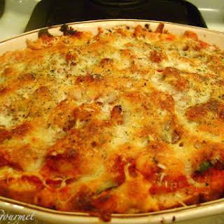 Bread, Zucchini & Chickpea Lasagna!!!.