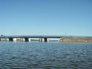 Photo: ...i była rzeka, a tu...