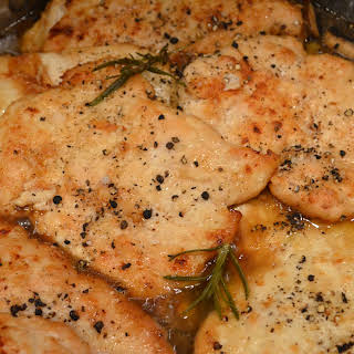 Luscious Chicken Marsala.