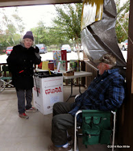 Photo: Toys for Tots organizer Letha Grace McCoy with Gary McCoy, chief helper.    HALS Public Run Day 2014-1115 RPW