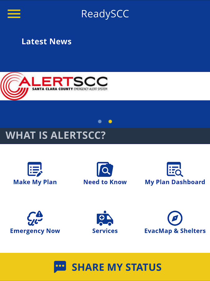 ReadySCC - Santa Clara County- screenshot