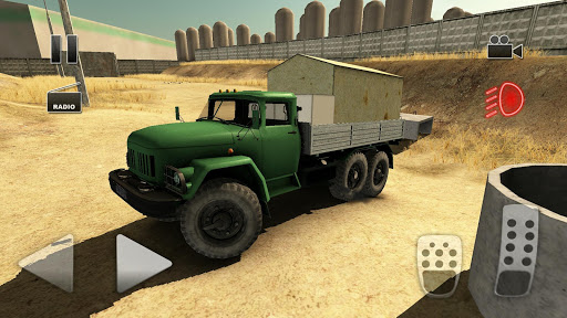 Truck Driver Crazy Road 2  captures d'écran 1