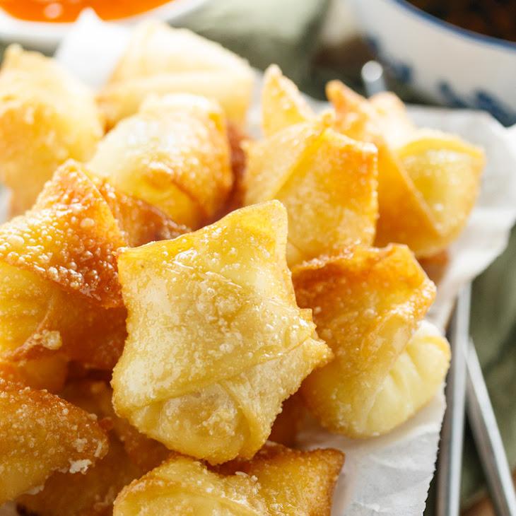 Sweet Cream Cheese Wontons Recipe