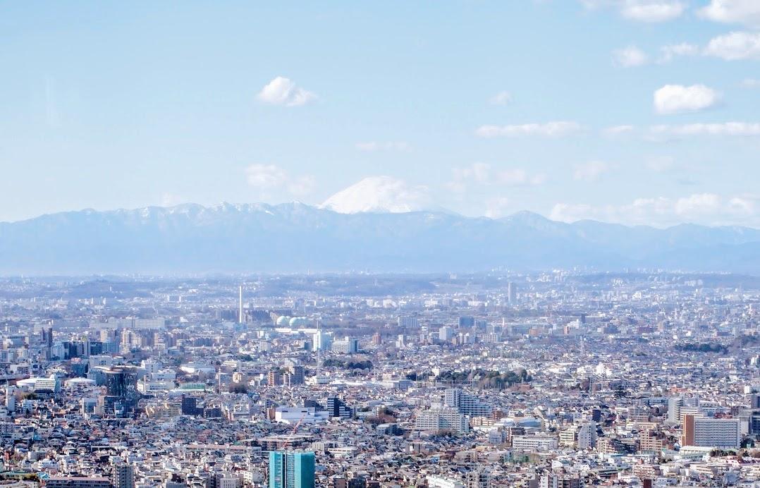 Mt. Fuji from Tokyo Metropolitan Government building