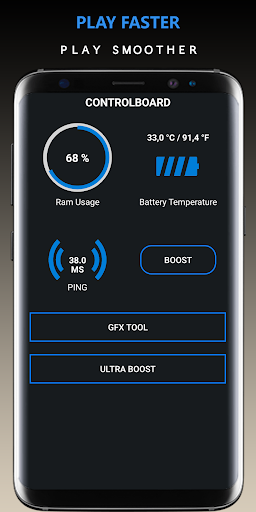 Game Booster Pro -x4 Power    GFX Tool    Lag Fix screenshot 1