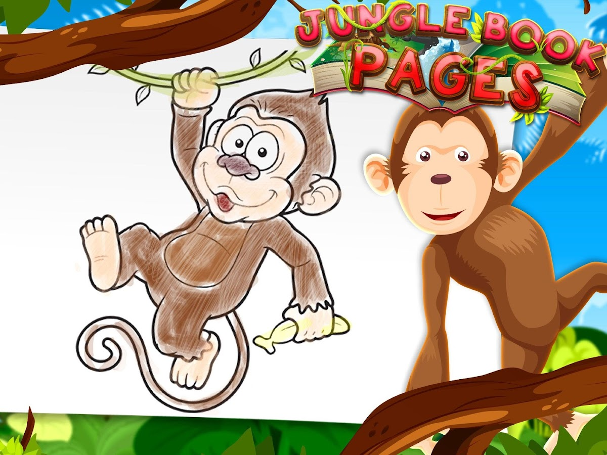 jungle book coloring pages android apps on google play