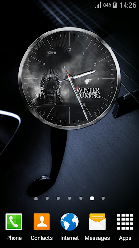 Clock for Game of Thrones