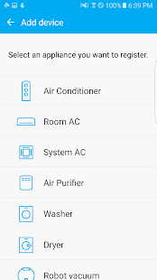 Samsung Smart Home Screenshot 2