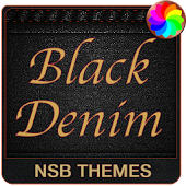 Black Denim Theme for Xperia