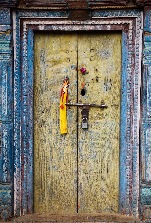 Nepali Door di vlao
