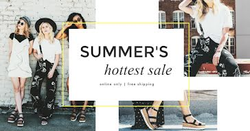 Summer's Hottest Sale - Facebook Event Cover Template