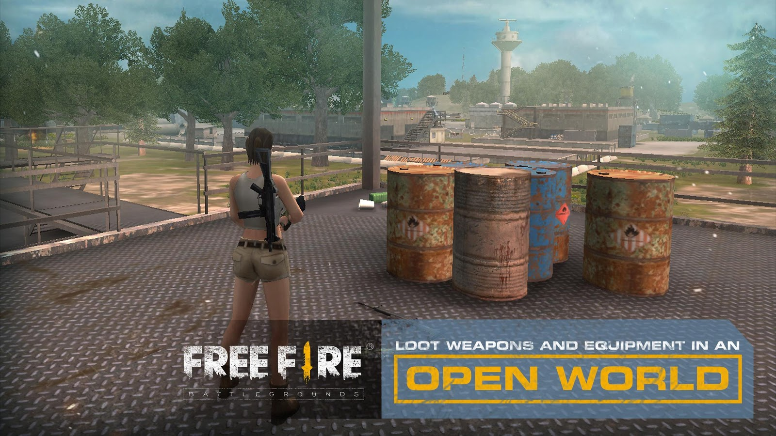 Free Fire - Battlegrounds- screenshot